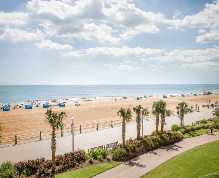 Virginia Beach Oceanfront Find Hotels Dining Entertainment