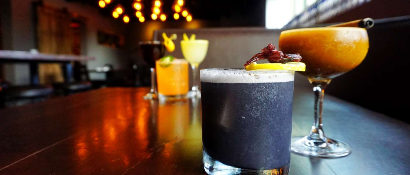 Cocktails at COA