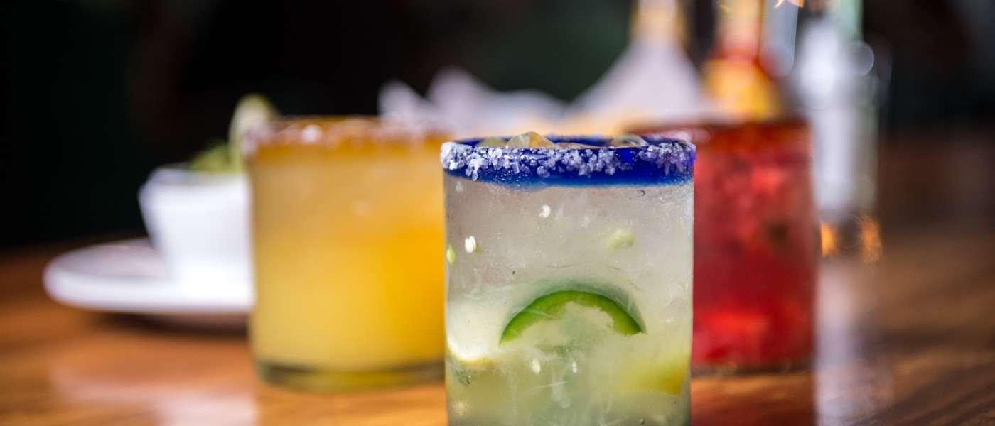 Margaritas at Cantina 76