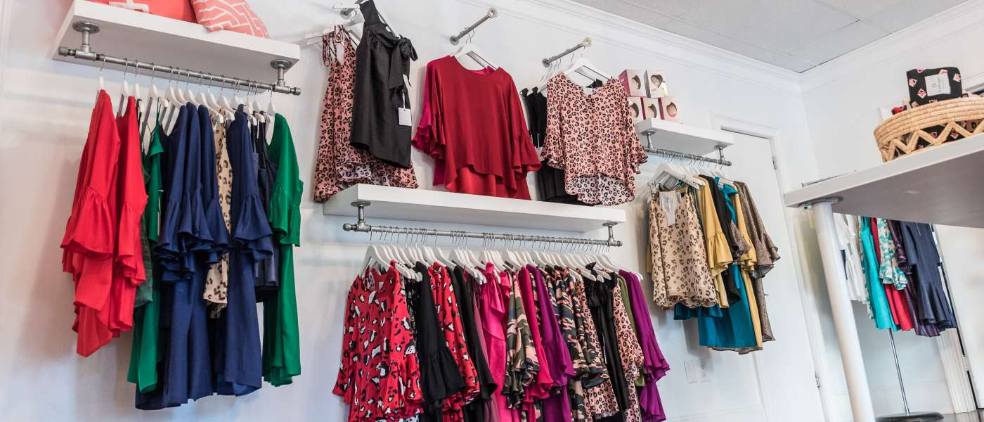 Clothing Display at LaRoque