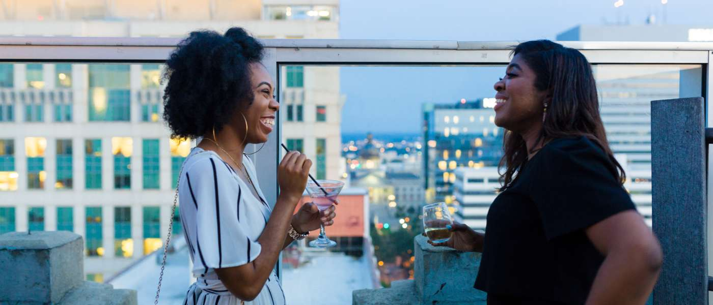 Women on Sheraton Rooftop