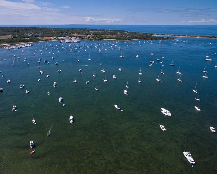 Aerial of New Harbor