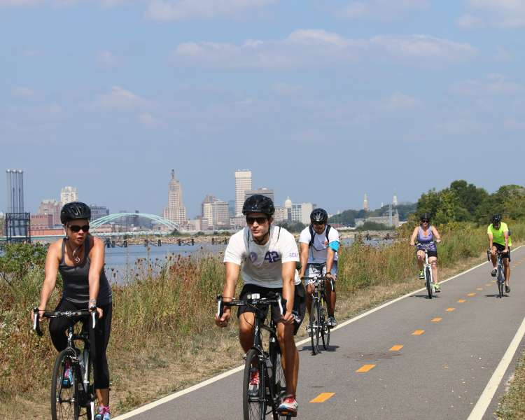 East Bay Bike Path-East Providence-Providence