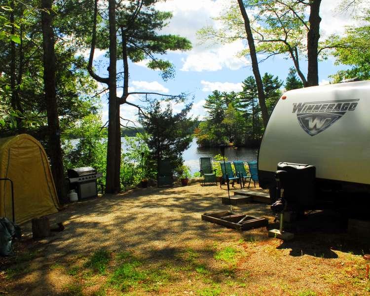 Bowdish Lake Camping Area-Chepatchet-Warwick
