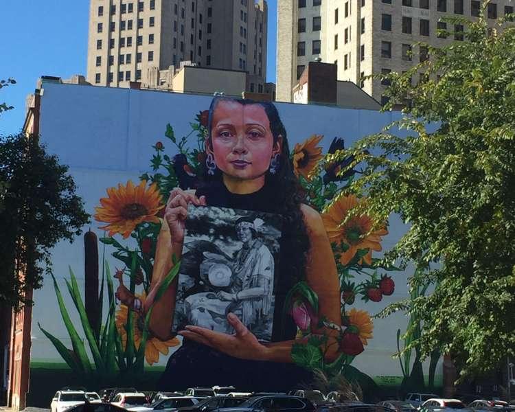 Still Here Mural in Rhode Island