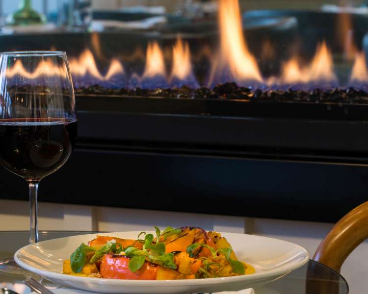 Fire - Dining- The Break Hotel - South County