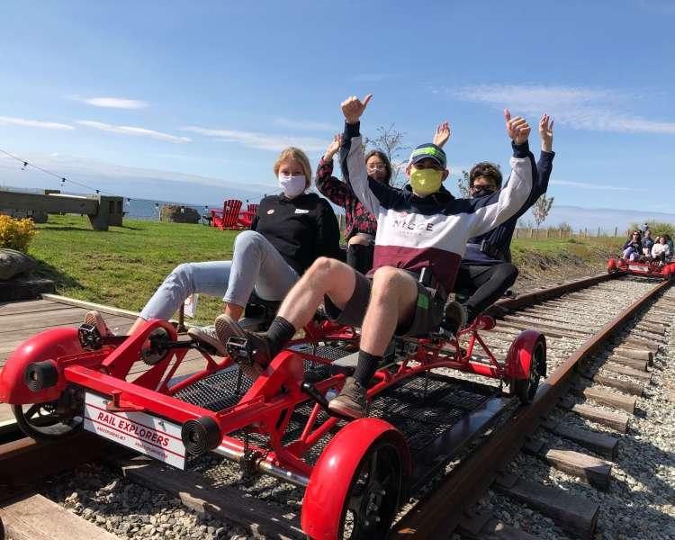 Rail Explorers - Covid - Newport County