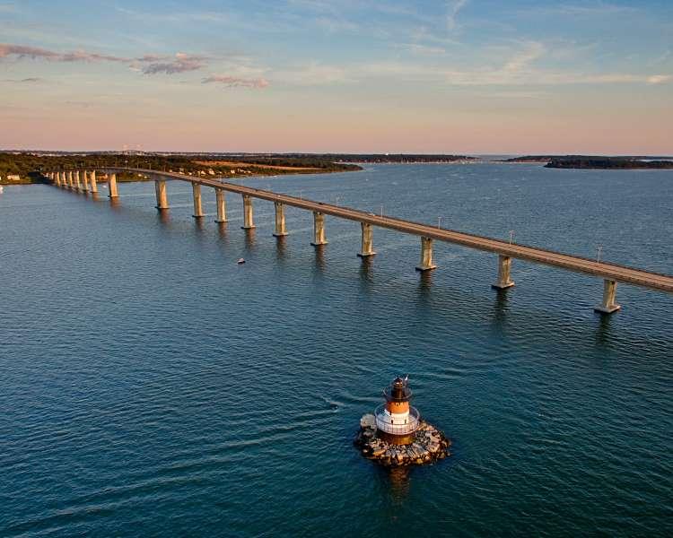 Jamestown Bridge & Plum Beach Lighthouse
