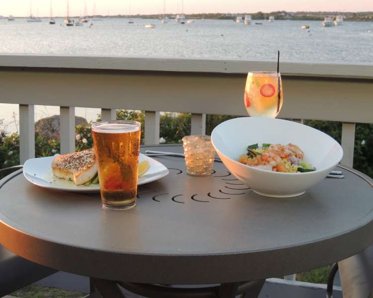 One of the oldest restaurants on Block Island.  Located at Payne's Dock in New Harbor.