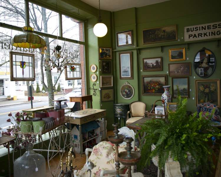 Interior of a shop in Wickford.