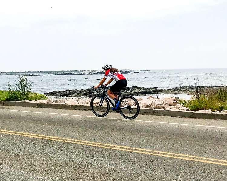 Biking Ocean Drive, Newport
