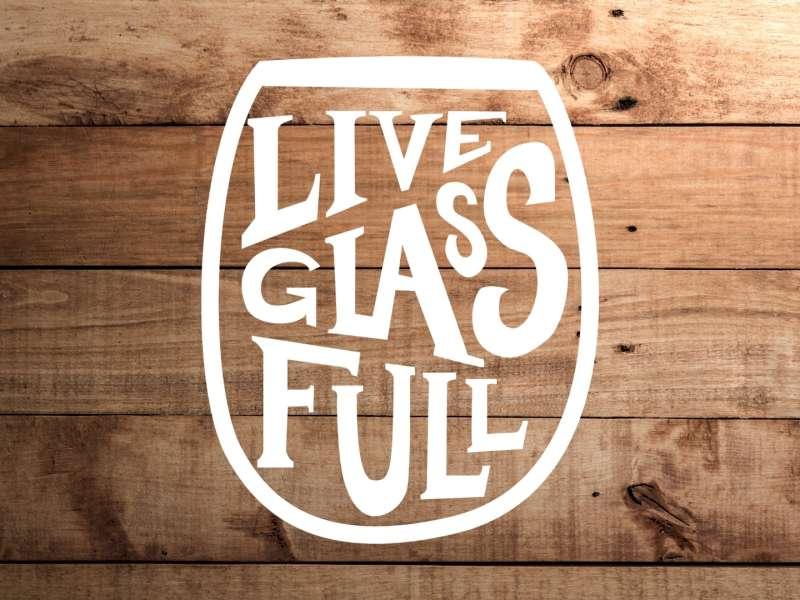 Live Glass Full Logos