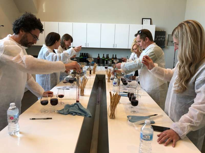 The Wine Lab at BOTTAIA Winery in Temecula Valely Southern California Winery