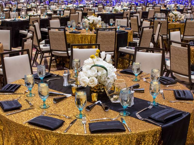 Event table placement