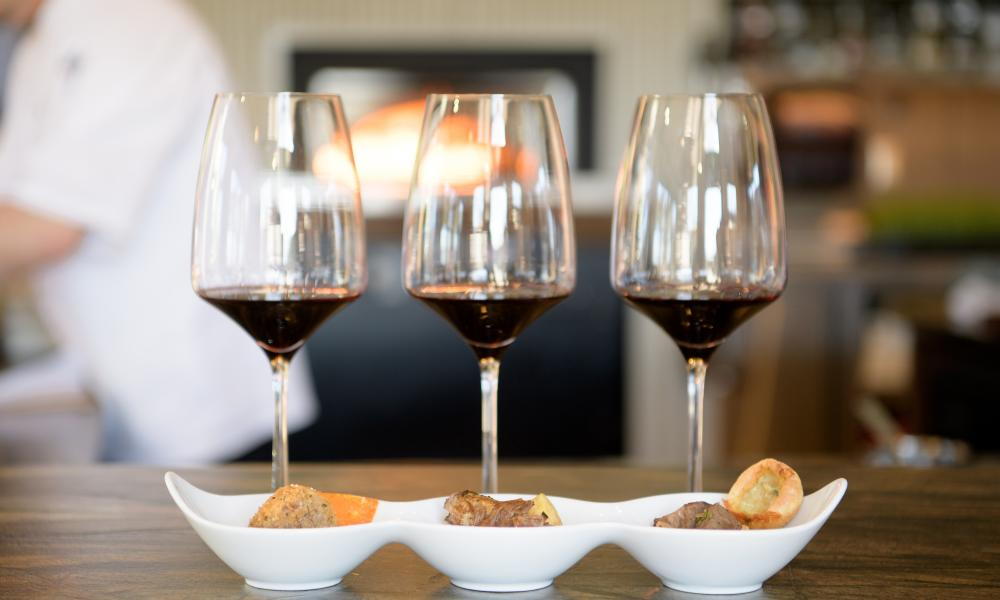 Napa Valley Food & Wine Pairing