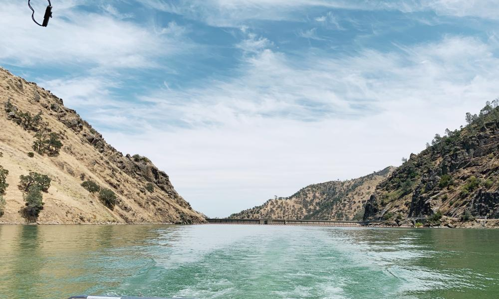 Lake Berryessa From Boat