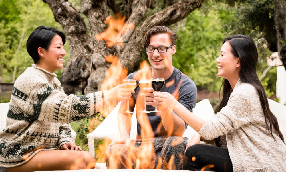 Cabernet Season- Friends Around the Fire