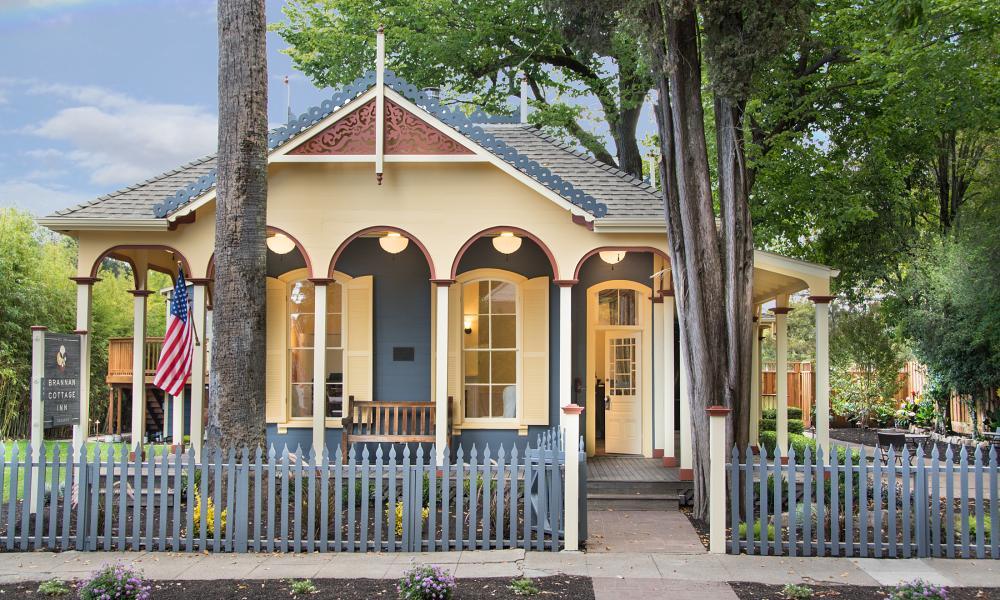 Brannan Cottage Inn in Napa Valley
