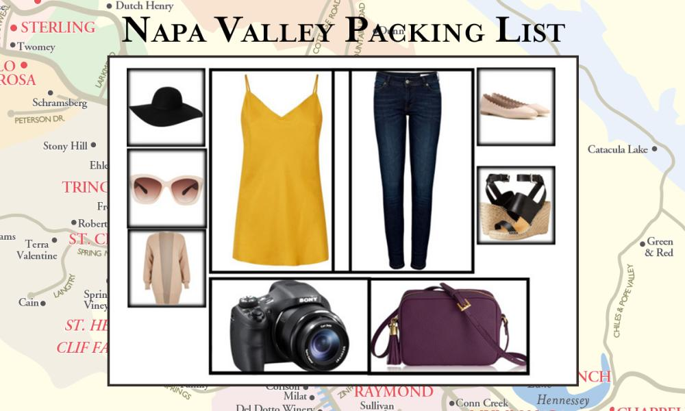 Napa Valley Packing List – What to Pack and Wear
