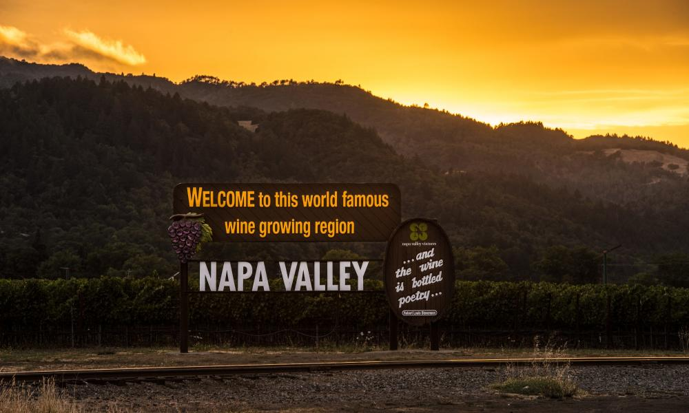 Is This Most Photographed Sign In >> The Most Photographed Places In Napa Valley The Visit Napa Valley Blog