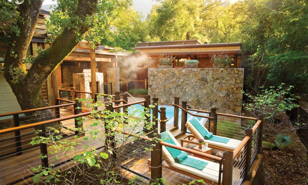 Spa at Calistoga Ranch