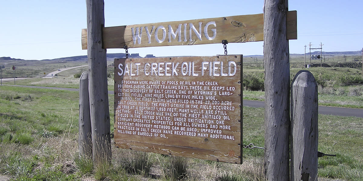 Salt Creek Oil Field