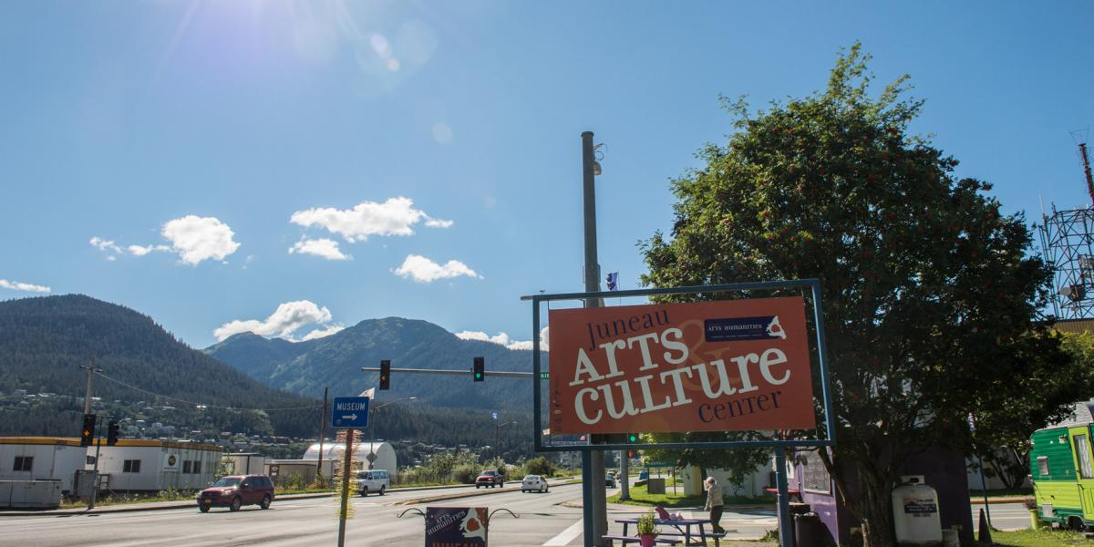Arts and Culture Sign