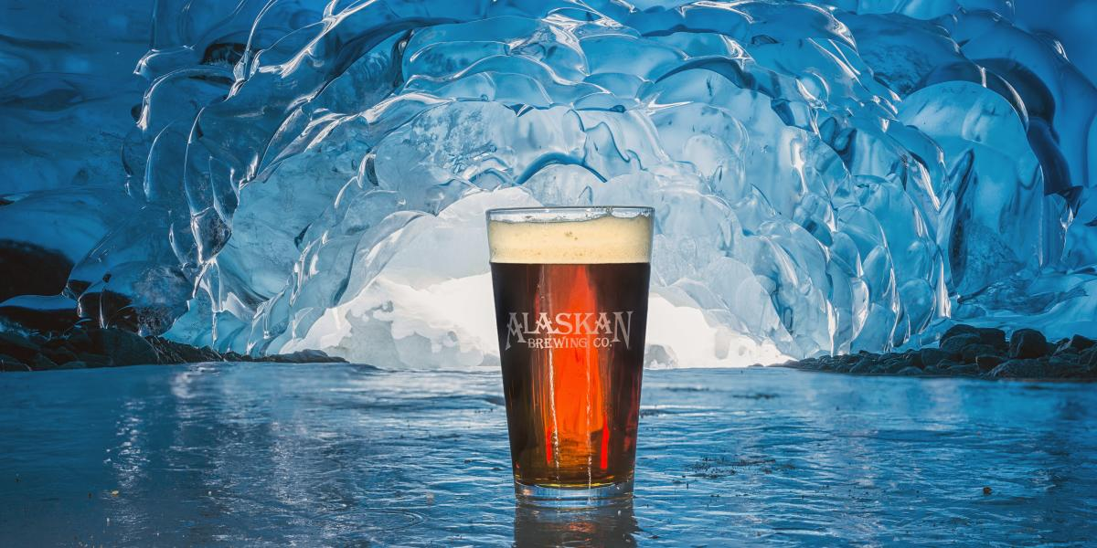 Alaskan Beer in Ice Cave