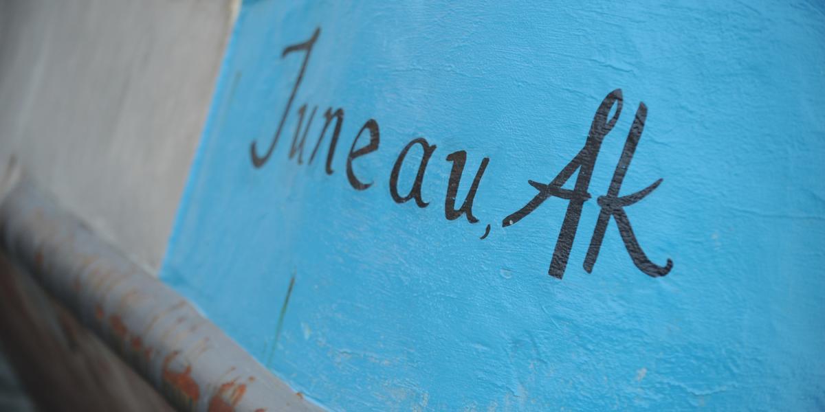 Juneau Boat Sign