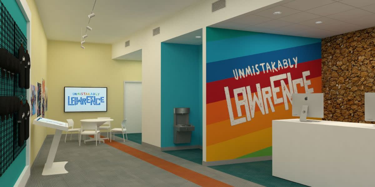 Visitor Center interior