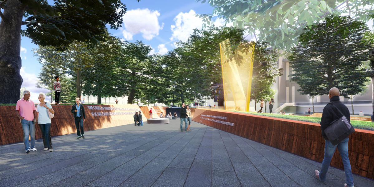 North Carolina Freedom Park (rendering)