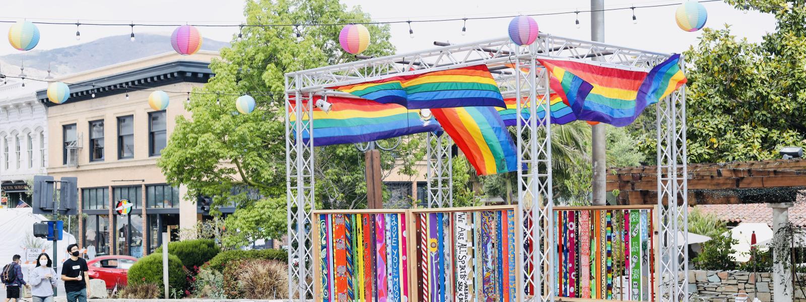 Pride Plaza Pop Up