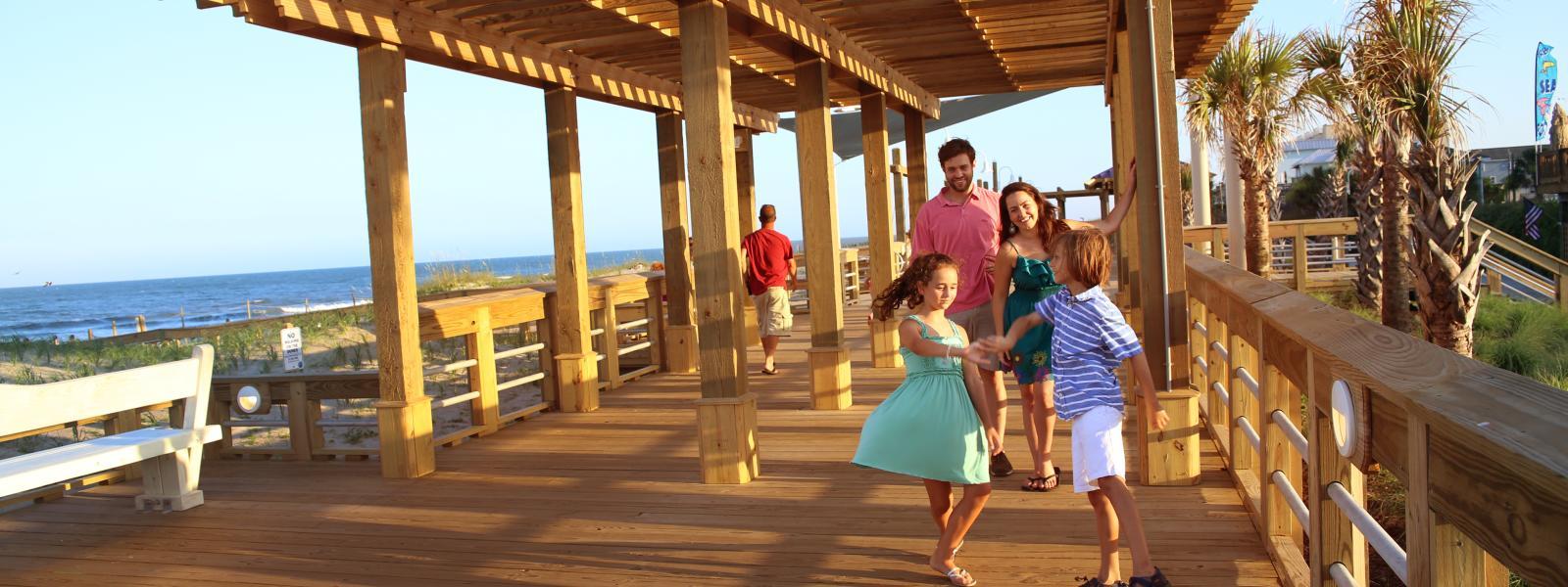 Wilmington Boardwalks Piers Ocean