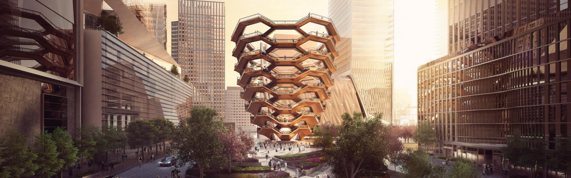 Hudson Yards, Rendering