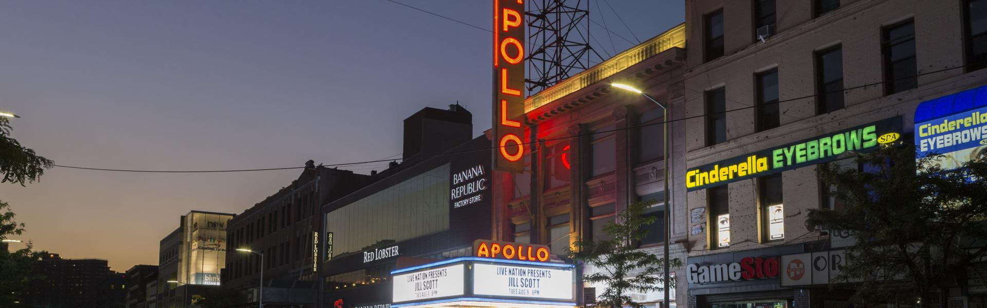 The Apollo Theatre exterior