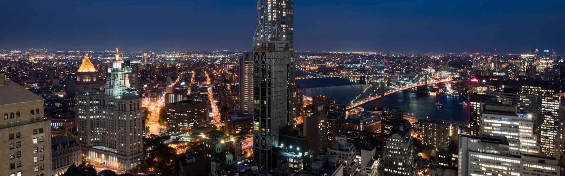Skyline view from Millennium Hilton