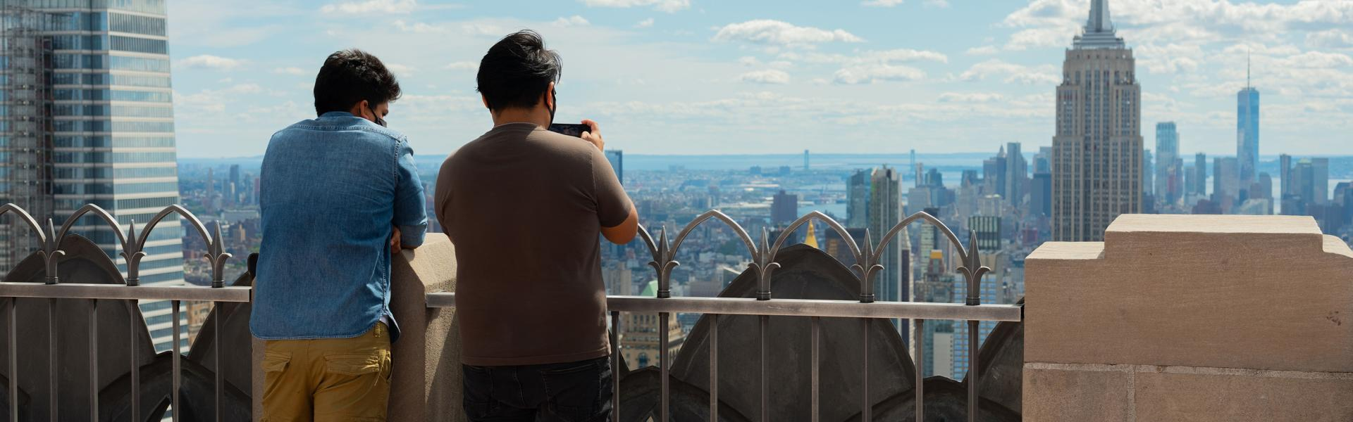 Top of the Rock, Manhattan, NYC