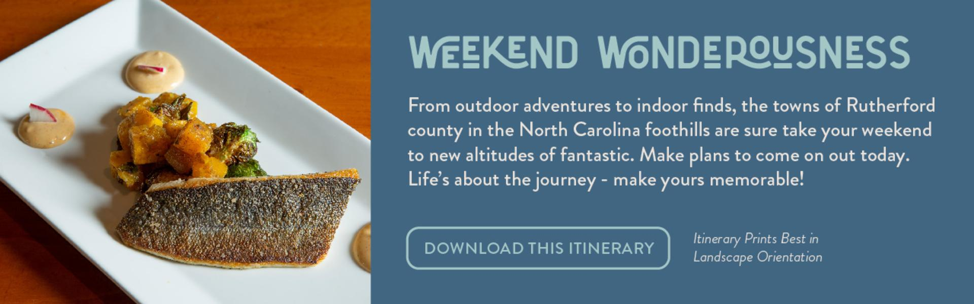 Weekend Wonderousness