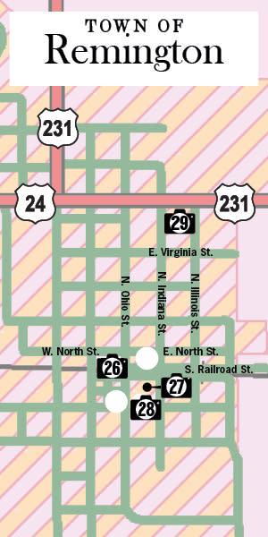 Remington Art Walk Map