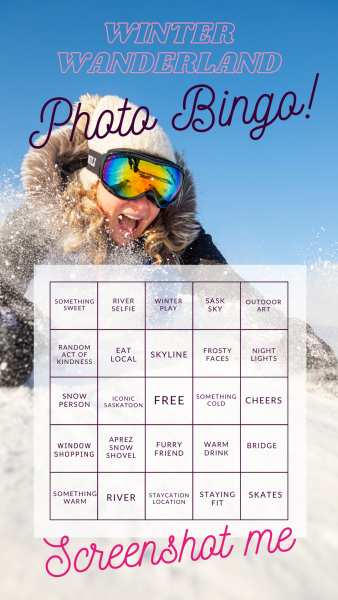 Winter Wanderland Photo Bingo!