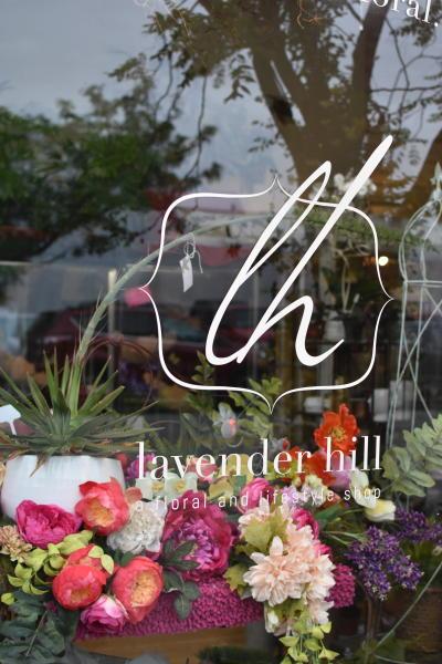 Window of Lavendar Hill