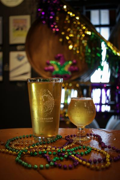 Chandeleur Island Brewing King Cake Ale