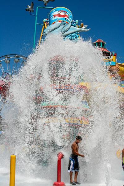 Hersheypark Boardwalk Bucket Dump