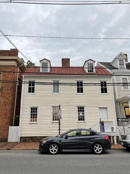 Maynard Burgess House circa 2021