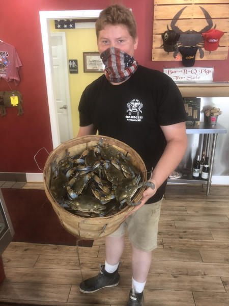 Pit Boys Seafood Manager, Charlie George.