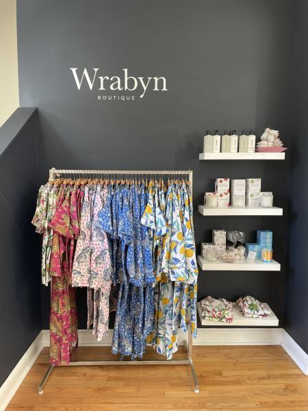 Cozy PJs and candles on display at Wrabyn