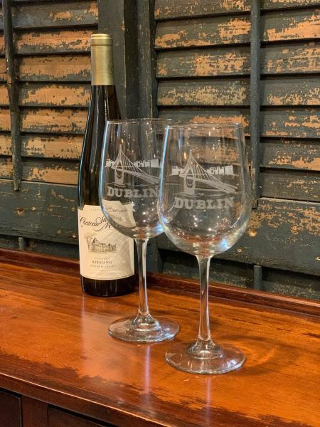 Etched Wine Glasses - Extravagifts