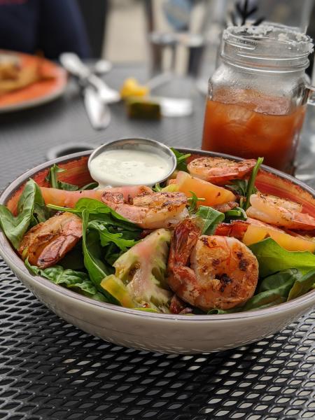cedar shrimp salad