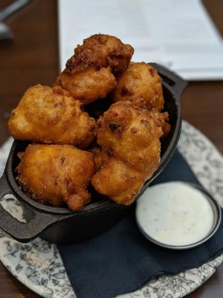 Coppin's fritters