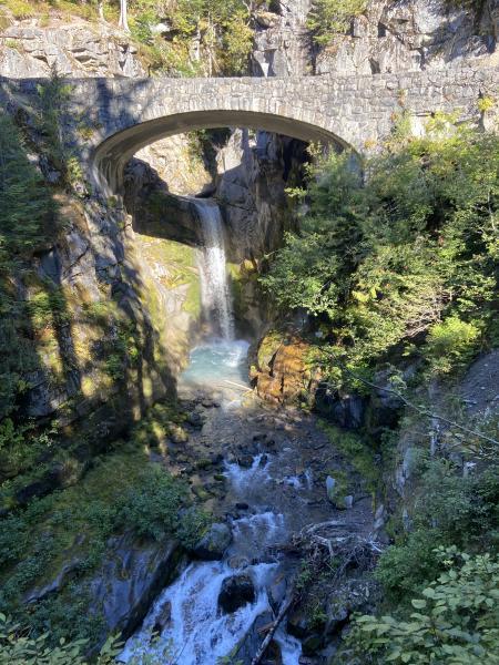 Christine Falls at Mount Rainier